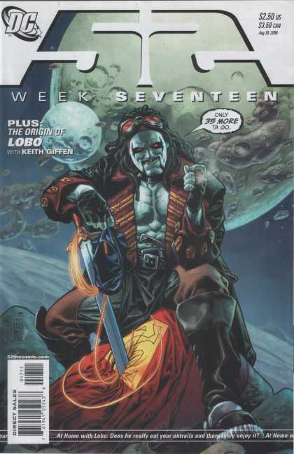 52 16 - Week Seventeen - Lobo - Origin - Keith Giffen - Entrails - Alex Sinclair, J Jones