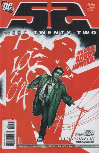 52 22 - Dc - Week Twenty-two - 22 - Magnus - Robot Hunted - Alex Sinclair, J Jones