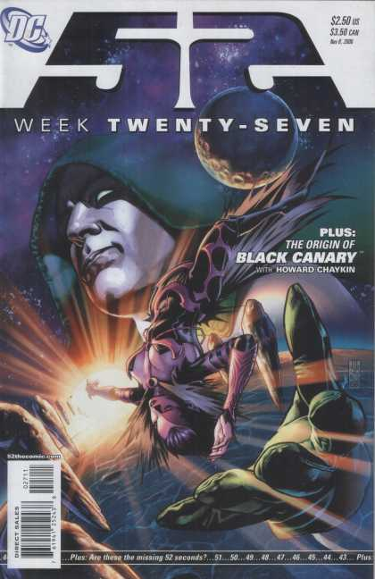 52 27 - Week Twenty Seven - Black Canary - Origin Of The Black Canary - Howard Chaykin - Outer Space - Alex Sinclair, J Jones