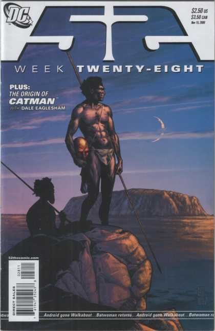 52 28 - Week Twenty-eight - The Origin Of Catman - With Dale Eaglesham - Australia - Bushmen - Alex Sinclair, J Jones