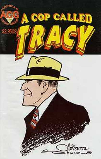 A Cop Called Tracy 10 - Dick Tracy - 295 Us - Acg - Hester - Yellow Hat