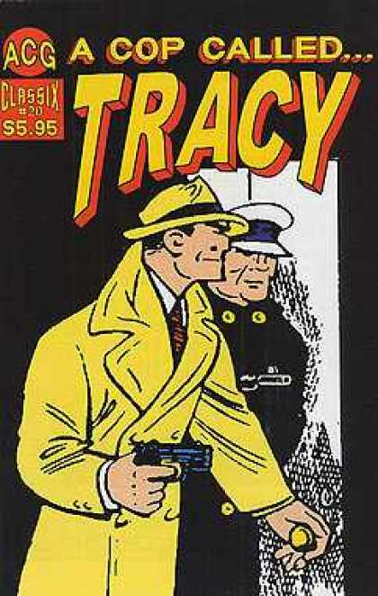 A Cop Called Tracy 20 - Cop - Detective - Black - Gun - Yellow