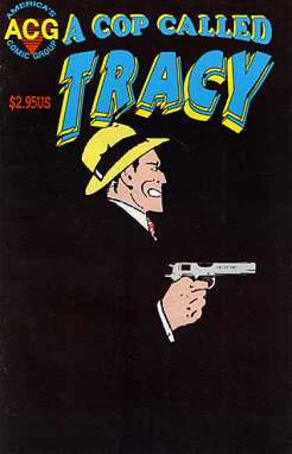 A Cop Called Tracy 5 - Gun - Old - Acg - Comics - Warren Beatty