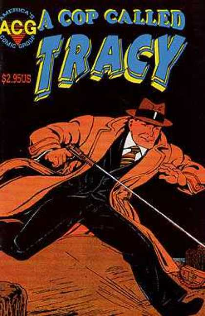 A Cop Called Tracy 8 - Gun - Cap - 295 Us - Tie - Americas Comic Group