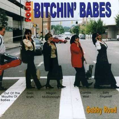 Abbey Road Hommage Covers - Four Bitchin' Babes: Gabby Road