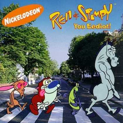 Abbey Road Hommage Covers - Ren & Stimpy: You Eediot