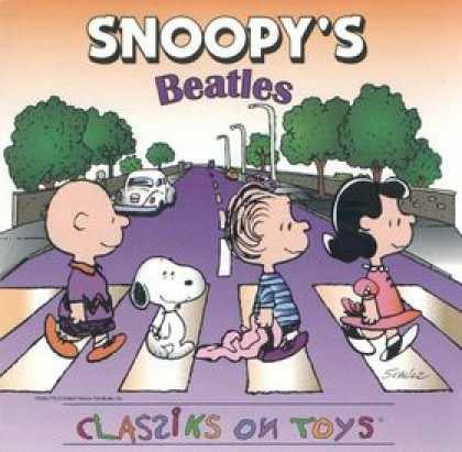 Abbey Road Hommage Covers - Snoopy's Beatles