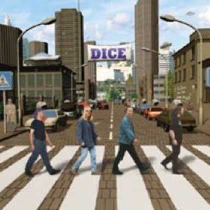 Abbey Road Hommage Covers - Dice: The Beatles Were From Another Galaxy
