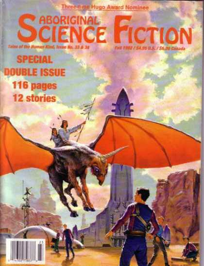 Aboriginal Science Fiction - Fall 1992
