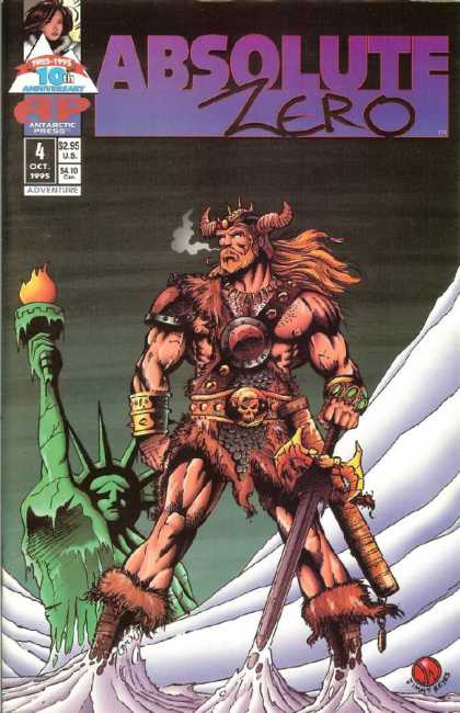 Absolute Zero 4 - Statue Of Liberty - Viking - Warrior - Ice - Barbarian