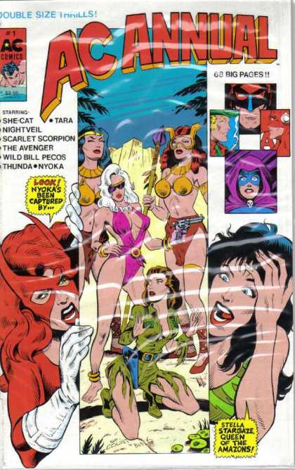 AC Annual 1 - She Cat - Nightveil - Tara - Scarlet - Avenger