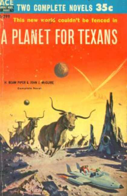 Ace Books - A Planet for Texans