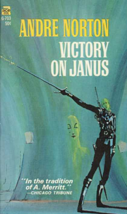 Ace Books - Victory On Janus - Andre Norton