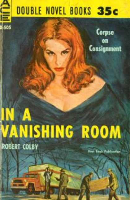 Ace Books - *signed* In a Vanishing Room / the Surfside Caper - Robert / Louis Trimble Colby