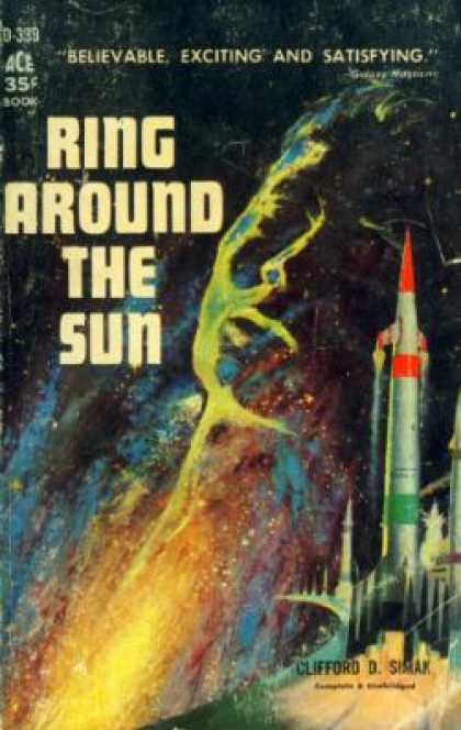Ace Books - Ring Around the Sun;: A Story of Tomorrow - Clifford D Simak