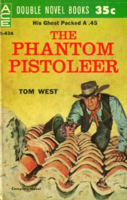 Ace Books - The Phantom Pistoleer and the Challenger - Giles A. Lutz