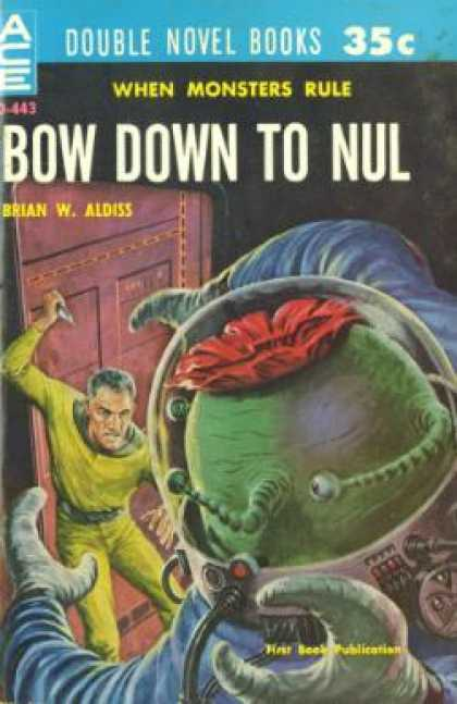 Ace Books - The Dark Destroyers / Bow Down To Nul - Manly Wade Wellman