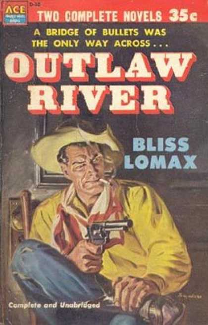 Ace Books - Showdown at Yellow Butte / Outlaw River