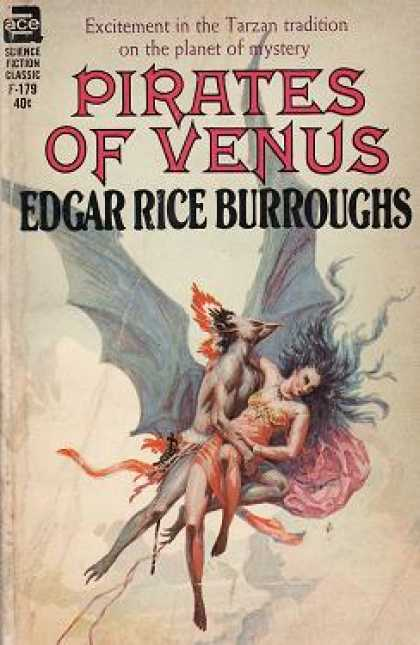 Ace Books - Pirates of Venus (classic Ace Sf, F-179)