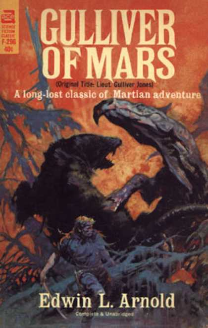Ace Books - Gulliver of Mars - Edwin L. Arnold