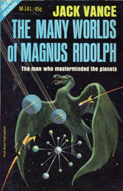 Ace Books - The Many World of Magnus Ridolph & the Brains of Earth