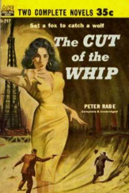 Ace Books - The Cut of the Whip - Peter Rabe