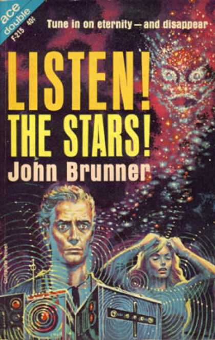 Ace Books - Listen! The Stars! - John Brunner