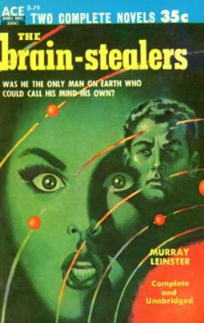 Ace Books - The Brain-Stealers - Murray Leinster