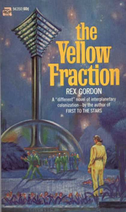 Ace Books - The Yellow Fraction - S. B Hough