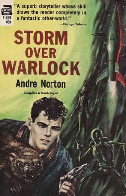 Ace Books - Storm Over Warlock - Andre Norton