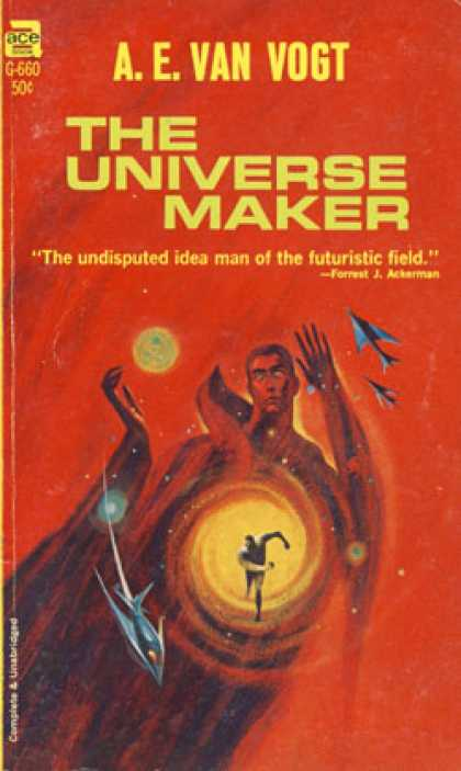 Ace Books - The Universe Maker - A.e. Van Vogt