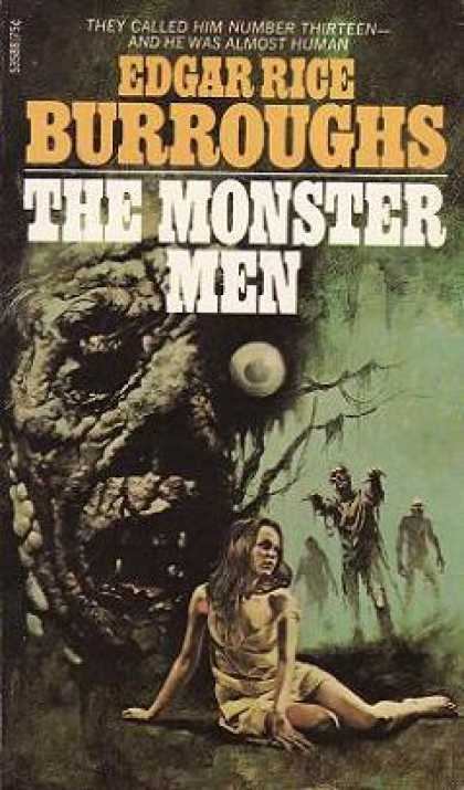 Ace Books - The Monster Men - Edgar Rice Burroughs