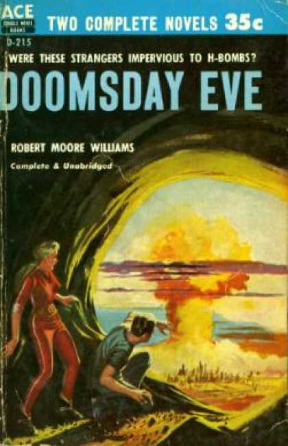 Ace Books - Three To Conquer / Doomsday Eve - Eric Frank Russell
