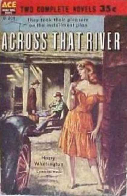 Ace Books - Across that river - Harry Whillington