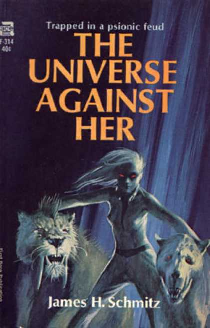 Ace Books - The Universe Against Her - James H. Schmitz