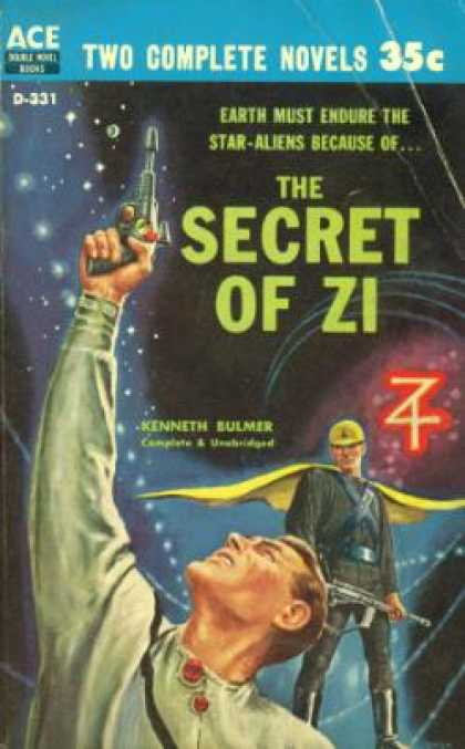Ace Books - Secret of Zi Beyond the Vanishing Point - Kenneth Bulmer