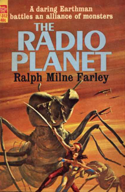 Ace Books - The Radio Planet - Ralph Milne Farley