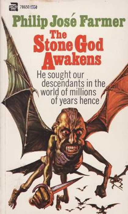 Ace Books - The Stone God Awakens - Philip Jose Farmer