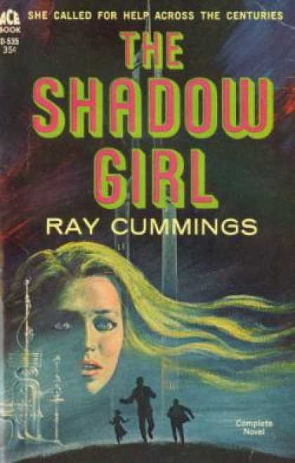 Ace Books - The Shadow Girl - Ray Cummings