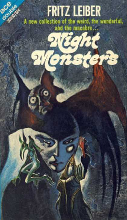 Ace Books - The Green Millennium / Night Monsters - Fritz Leiber