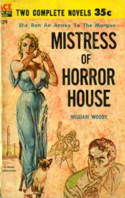 Ace Books - Mistress of Horror House / Drink With the Dead - William; J.m. Flynn Woody