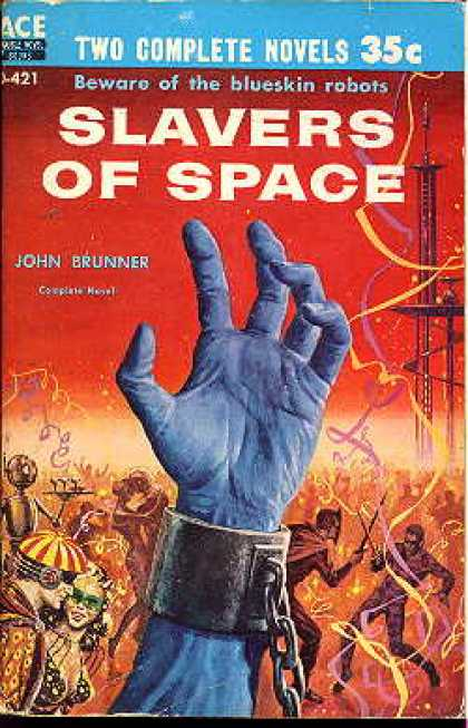 Ace Books - Dr. Futurity / Slavers of Space - Philip K. Dick