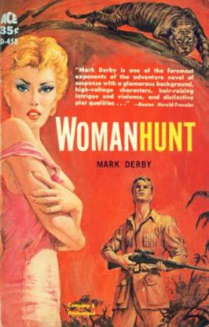 Ace Books - Womanhunt - Mark Derby