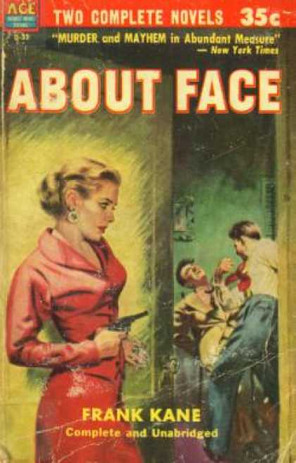 Ace Books - About Face / Murder By the Pack - Frank Kane