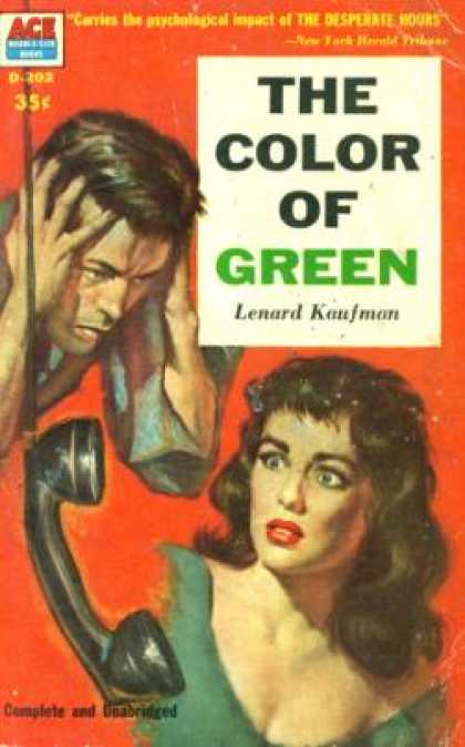 Ace Books - The Color of Green - Lenard Kaufman