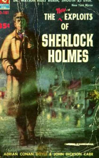 Ace Books - The New Exploits of Sherlock Holmes: The Adventure of the Seven Clocks; the Adve