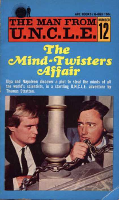Ace Books - The Man From U.n.c.l.e. Number 12; the Mind-twisters Affair