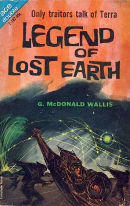 Ace Books - Alpha Centauri or Die! Legend of the Lost Earth - Leigh Brackett