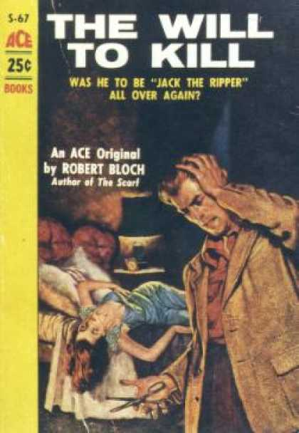 Ace Books - The Will To Kill - Robert Bloch