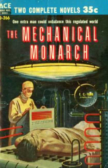 Ace Books - Mechanical Monarch / Twice Upon a Time - E. C. Tubb